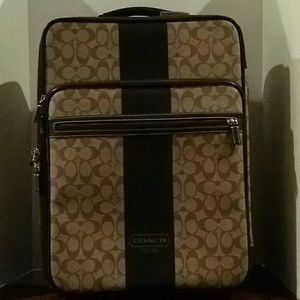 Coach carry on bag near gem mint!